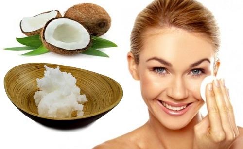 Bí quyết làm căng da mặt bằng dầu dừa