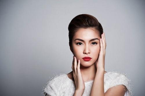 Người mẫu Tăng Thanh Hà