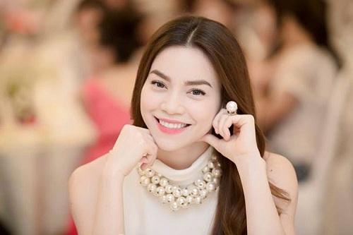 Khuôn mặt v-line đẹp của Hồ Ngọc Hà