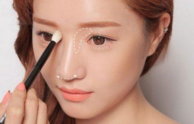 Cách làm mũi cao không cần phẫu thuật bằng trang điểm