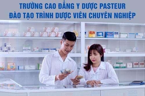 Tuyển sinh Trình Dược viên chuyên nghiệp tại Cao đẳng Y Dược Pasteur