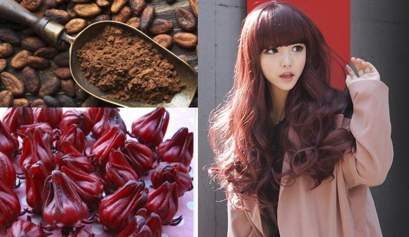 Nhuộm tóc từ các thực phẩm có thành phần tự nhiên