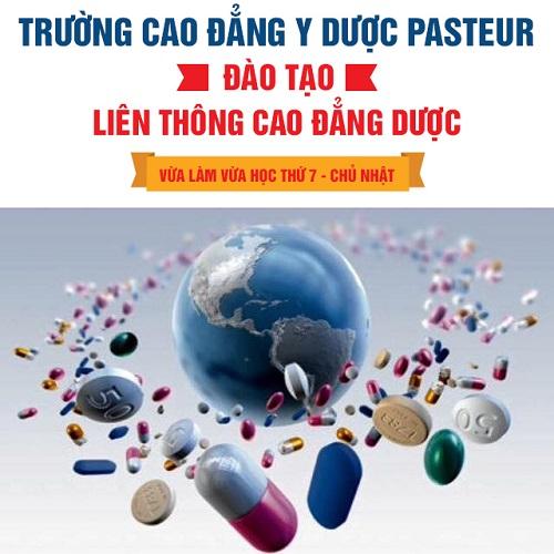 Trường Cao đẳng Y Dược Pasteur tuyển sinh Liên thông Cao đẳng Dược năm 2018