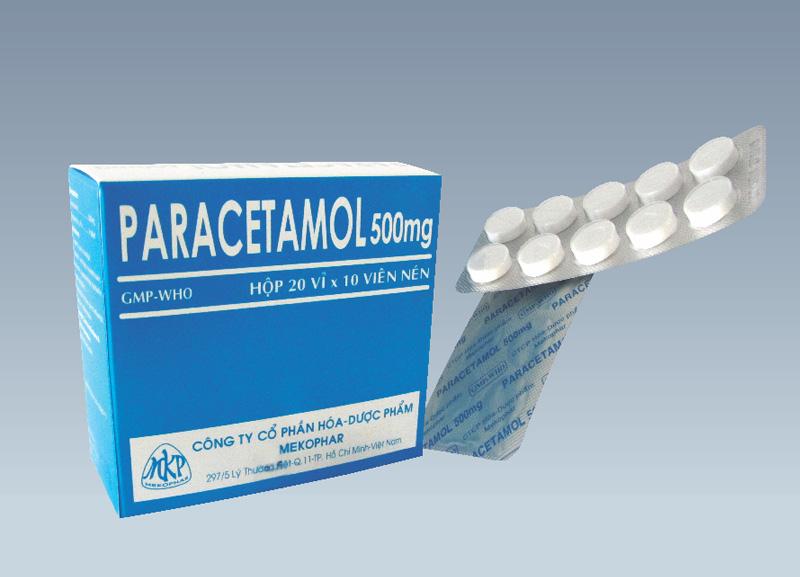 Liều dùng dành cho thuốc Paracetamol