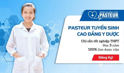 Trường Cao đẳng Y Dược Pasteur đào tạo Cao đẳng Y Dược uy tín chất lượng