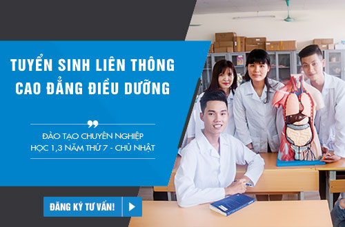 Điều kiện thi tuyển Liên thông Cao đẳng Điều dưỡng Hà Nội