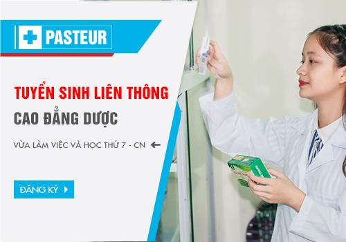 Trường Cao đẳng Y Dược Pasteur tuyển sinh liên thông Cao đẳng Dược
