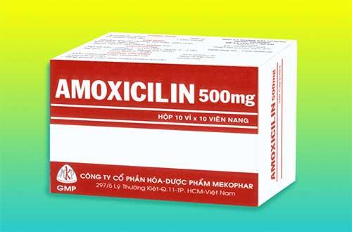 Cách sử dụng thuốc Amoxicillin như thế nào?