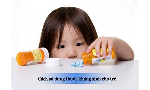 Cách sử dụng thuốc kháng sinh an toàn cho trẻ nhỏ