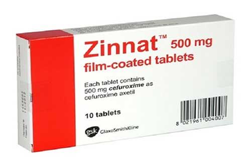 Tác dụng của thuốc Zinnat tablets 500mg