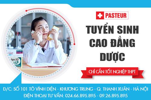 Địa chỉ tuyển sinh Cao đẳng Dược Hà Nội