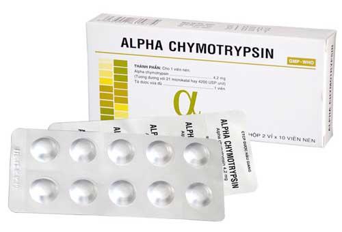 Cách dùng thuốc Alphachymotrypsin an toàn