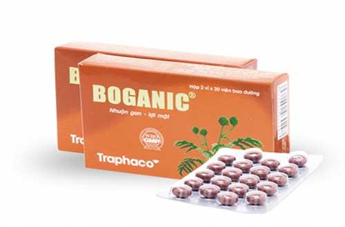 Đối tượng sử dụng thuốc Boganic