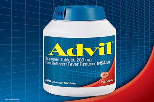 Giảm cơn đau nhanh chóng nhờ tác dụng của thuốc Advil Ibuprofen