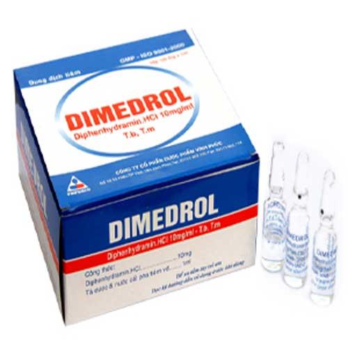 Tác dụng của thuốc Dimedrol