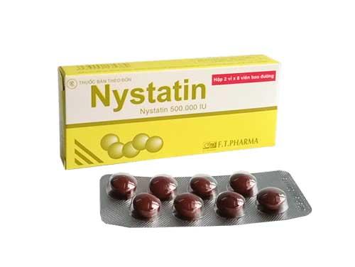 Tác dụng của thuốc Nystatin