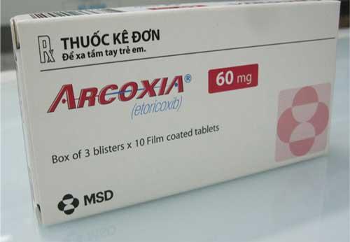 Tìm hiểu tác dụng của thuốc Arcoxia