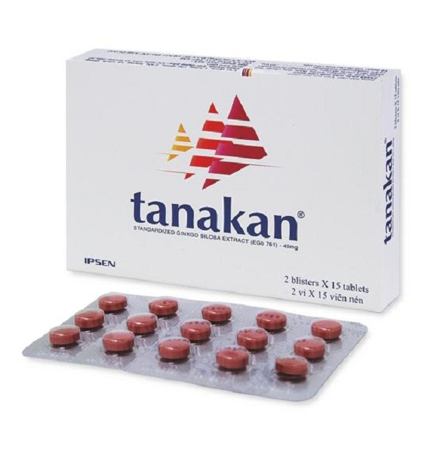 Hướng dẫn sử dụng thuốc Tanakan 40mg