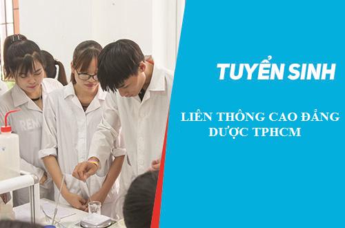 Liên Thông Cao đẳng Dược TPHCM 2018 mở ra nhiều cơ hội việc làm cho sinh viên