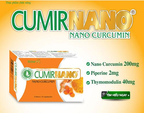 Công nghệ Nano Curcumin giúp hiệu quả chữa bệnh cao hơn