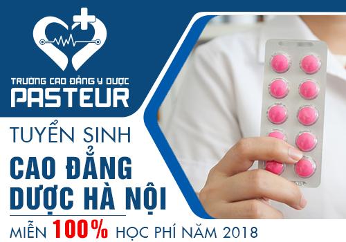 Điểm chuẩn Cao đẳng Dược Hà Nội năm 2018 mới nhất