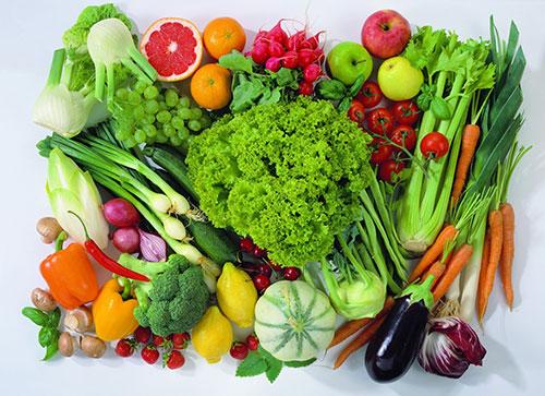 Bổ sung vitamin và khoáng chất bằng cách ăn nhiều rau củ quả