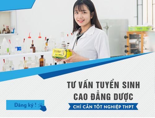 Hình thức xét tuyển Cao đẳng Dược TP Hồ Chí Minh năm 2018