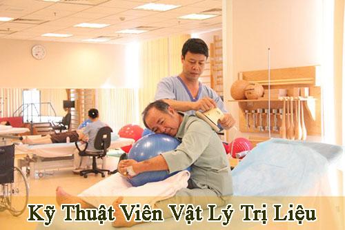 Địa chỉ đào tạo Cao đẳng Kỹ thuật Vật lý trị liệu tại Hà Nội