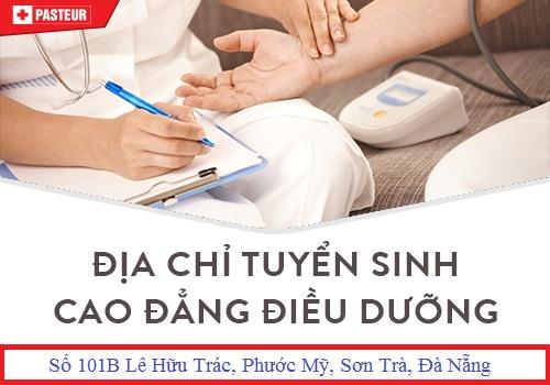 Địa chỉ xét tuyển Cao đẳng Điều dưỡng Đà Nẵng năm 2018