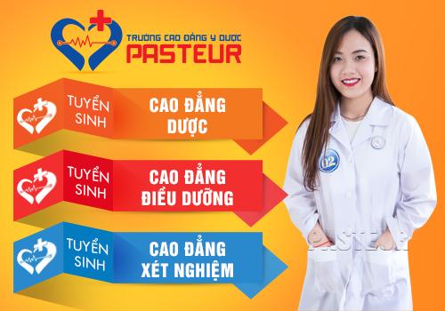 Trường Cao đẳng Y Dược Pasteur Đà Nẵng tuyển sinh năm 2018