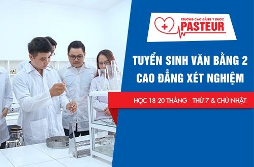 Thời gian đào tạo Văn bằng 2 Cao đẳng Xét nghiệm tại Trường Cao đẳng Y Dược Pasteur Đà Nẵng