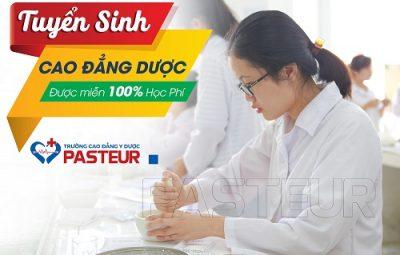 Tuyen-sinh-cao-dang-duoc-duoc-mien-100%-hoc-phi-truong-cao-dang-y-duoc-pasteur