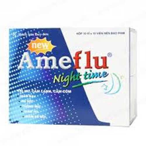 Tác dụng phụ của thuốc Ameflu ban đêm