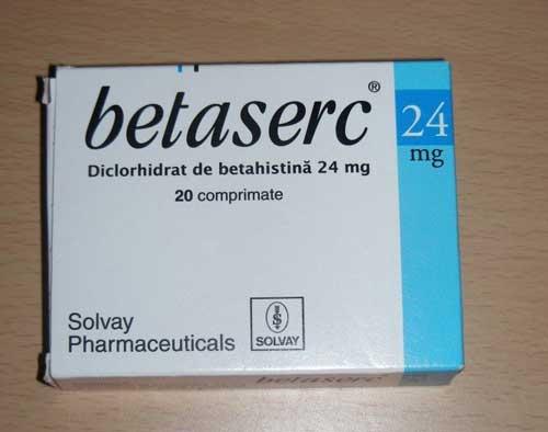 Thuốc Betaserc là thuốc gì?