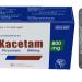 Thuốc Kacetam 800mg chữa bệnh gì?