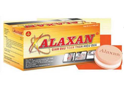 Tác dụng của thuốc Alaxan là gì?