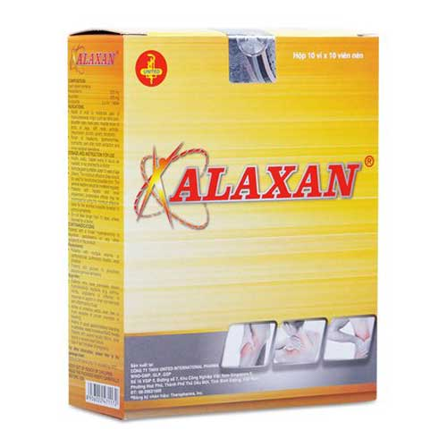 Thuốc Alaxan có gây ra tác dụng phụ hay không?