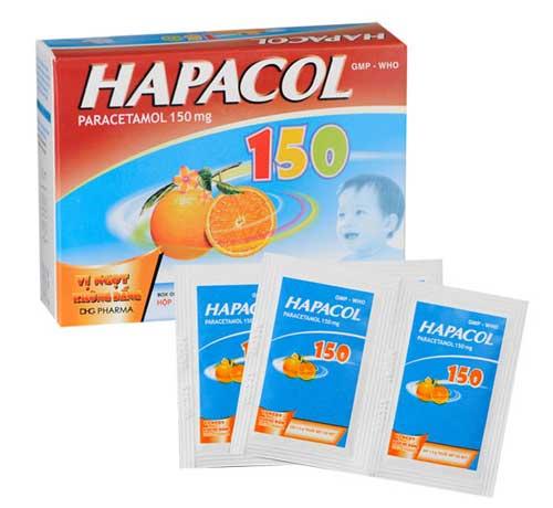 Thông tin về thành phần của thuốc Hapacol 150