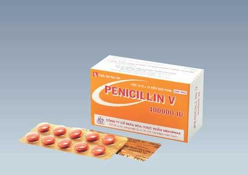 Tìm hiểu tác dụng của thuốc Penicillin V