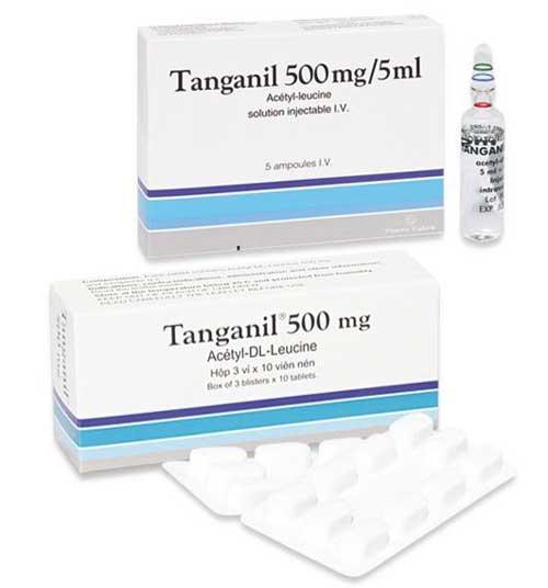 Tìm hiểu tác dụng của thuốc Tanganil