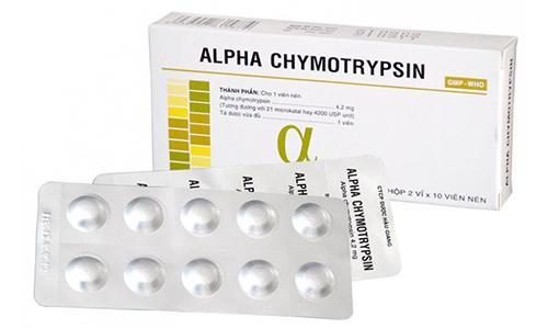 Những ai không nên dùng thuốc Chymotrypsin và công dụng của thuốc là gì?