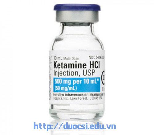 Thuốc gây mê Ketamin Hcl