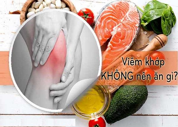 Chế độ ăn uống đóng vai trò rất quan trọng trong việc điều trị bệnh viêm khớp