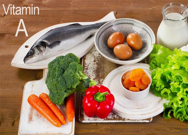 Vitamin A là chất dinh dưỡng quan trọng của cơ thể