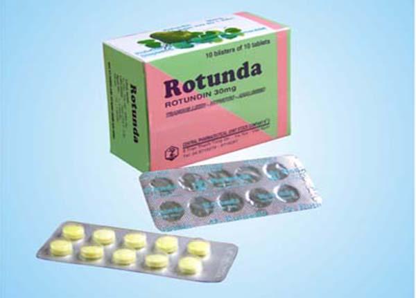 Rotunda là thuốc có tác dụng an thần, giúp người dùng dễ đi vào giấc ngủ