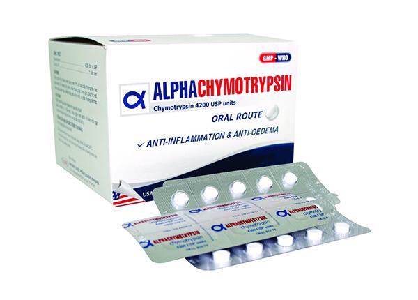 Thông tin cơ bản về Alpha chymotrypsin