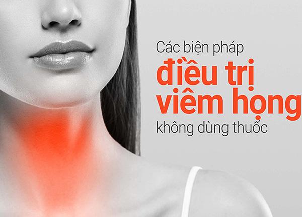 Mẹo chữa viêm họng tại nhà